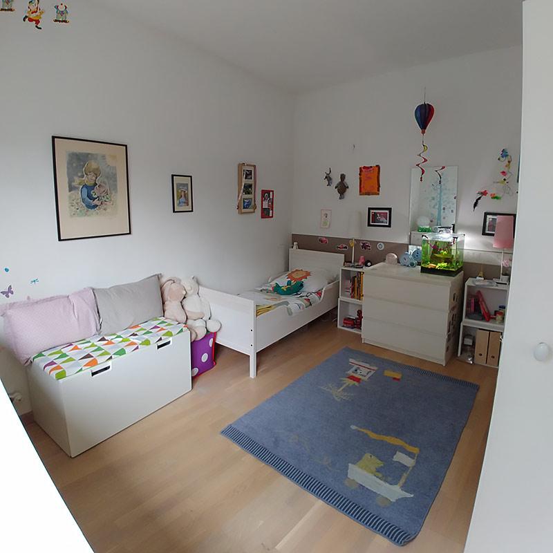 La chambre des enfants avant les travaux.
