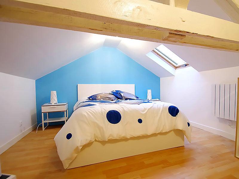 chambre sous toiture