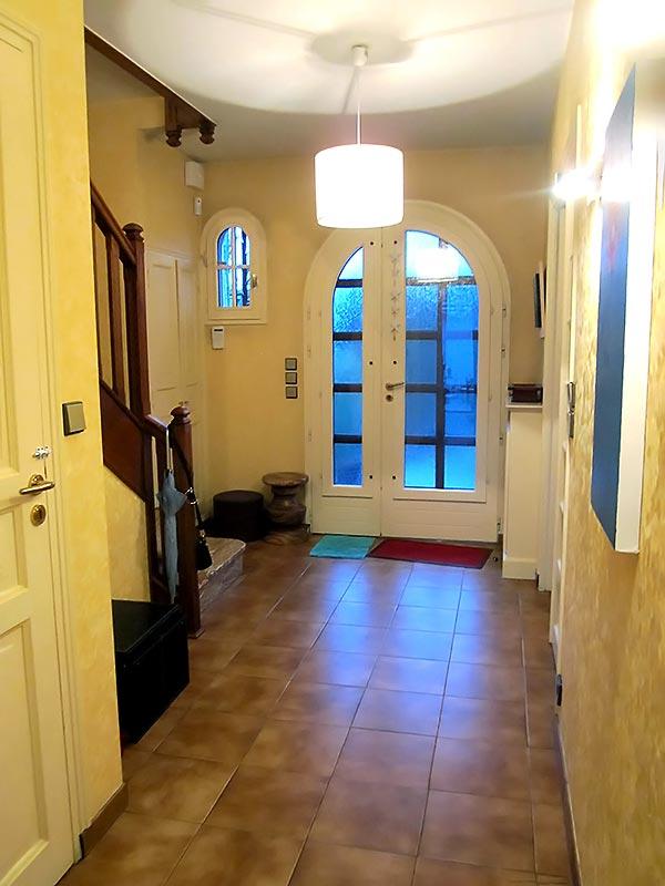 L'entrée de la maison avant la rénovation.
