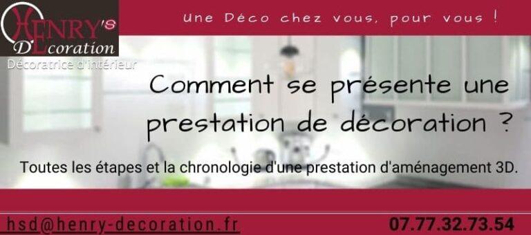 Read more about the article Comment se présente une prestation de décoration ?